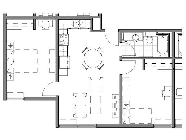 2 BEDROOM UNIT – F2