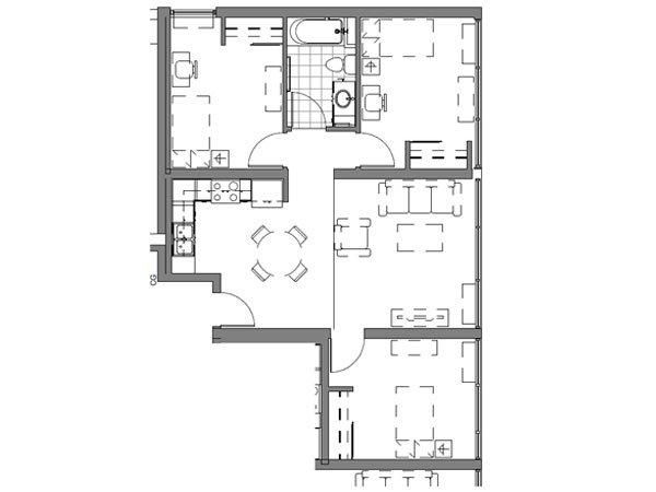 3 BEDROOM UNIT – A1