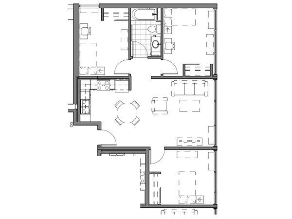 3 BEDROOM UNIT – A2