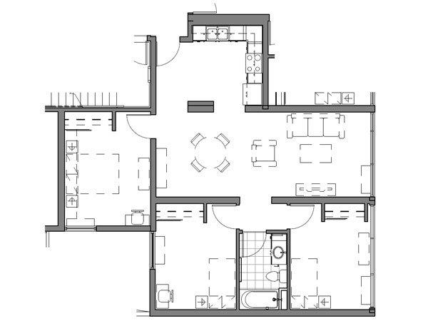 3 BEDROOM UNIT – B1